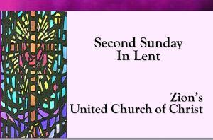 2nd Sunday Lent