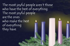 3rd Sun Advent - Joy - Best of Everything