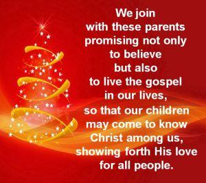 Baptism & Christmas