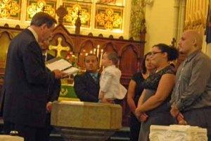 DSCN2456 Hernandez baptism at font
