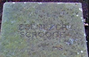 Grave Ebenezer Scrooge