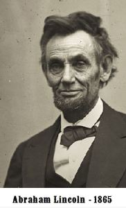 Lincoln Abraham 1865 croped