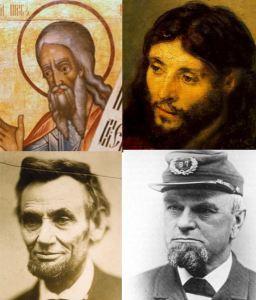 Jesus, Micah the Prophet, Abraham Lincoln, Ignatz Gresser