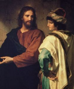 """Jesus with the """"Rich Young Ruler"""""""