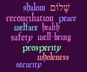 shalom words final in Purple