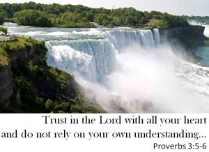 Trust in the Lord - Niagra Falls 01