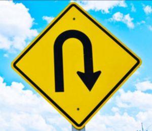 turnaround sign