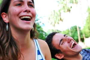 man and woman laughing - It's_so_funny! FLIP